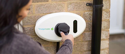 Home charging with BP Chargemaster